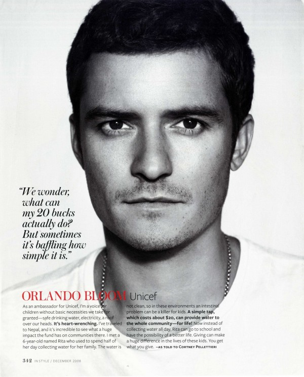 Orlando Bloom by SARAH COBB