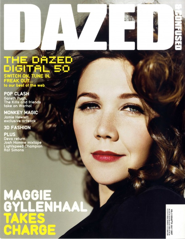 Dazed & Confused Maggie Gyllenhaal by SARAH COBB